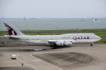 yabyanさんが、羽田空港で撮影したカタールアミリフライト 747-8KB BBJの航空フォト(写真)