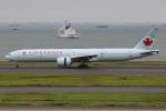 ぽんさんが、羽田空港で撮影したエア・カナダ 777-333/ERの航空フォト(写真)