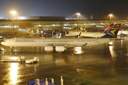 Wings Flapさんが、中部国際空港で撮影した南アフリカ航空 A340-642の航空フォト(飛行機 写真・画像)