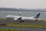 クロマティさんが、羽田空港で撮影したユナイテッド航空 787-9の航空フォト(写真)