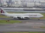 kayさんが、羽田空港で撮影したカタールアミリフライト 747-8KB BBJの航空フォト(写真)