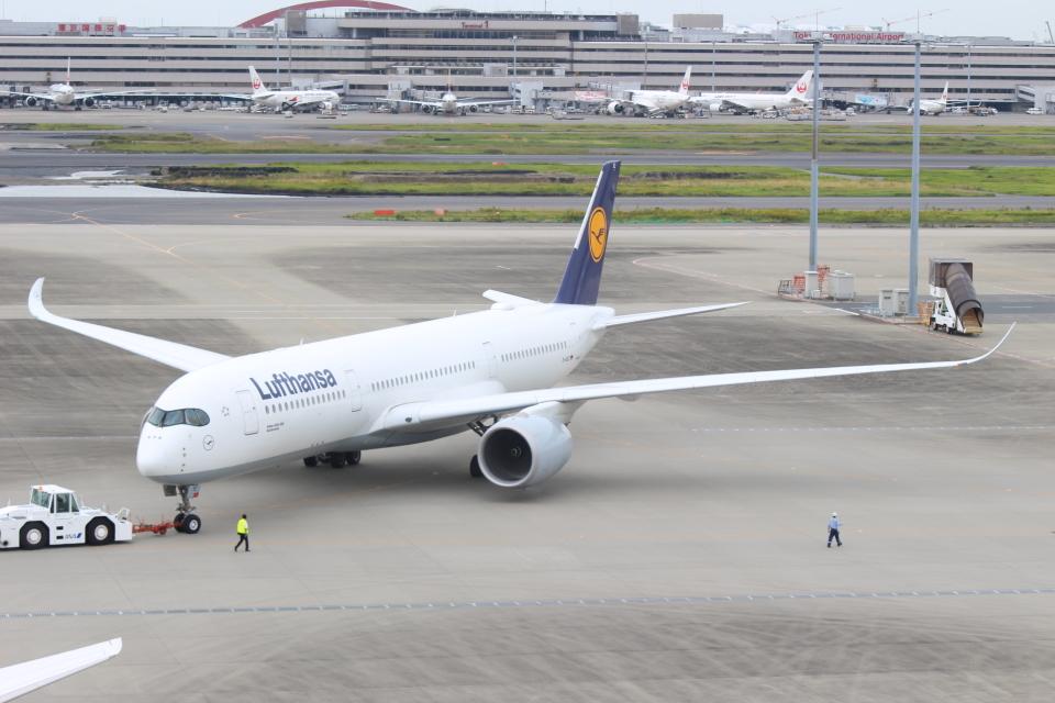 デルさんのルフトハンザドイツ航空 Airbus A350-900 (D-AIXC) 航空フォト