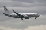 simokさんが、関西国際空港で撮影したアラブ・ウイングス 737-7GJ BBJの航空フォト(写真)