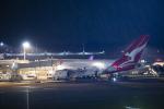 SGR RT 改さんが、成田国際空港で撮影したカンタス航空 A380-842の航空フォト(写真)