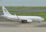 じーく。さんが、羽田空港で撮影したアラブ・ウイングス 737-7GJ BBJの航空フォト(飛行機 写真・画像)