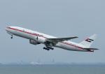 じーく。さんが、羽田空港で撮影したアミリ フライト 777-2AN/ERの航空フォト(写真)