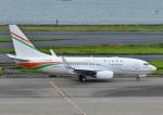 じーく。さんが、羽田空港で撮影したニジェール政府 737-75U BBJの航空フォト(写真)