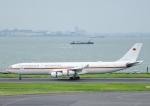 じーく。さんが、羽田空港で撮影したドイツ空軍 A340-313Xの航空フォト(飛行機 写真・画像)