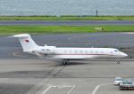 じーく。さんが、羽田空港で撮影したバーレーン王室航空 G650 (G-VI)の航空フォト(飛行機 写真・画像)