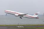 武彩航空公司(むさいえあ)さんが、羽田空港で撮影したアミリ フライト 777-2AN/ERの航空フォト(写真)
