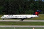 A-Chanさんが、ローリー・ダーラム国際空港で撮影したデルタ航空 717-2BDの航空フォト(写真)