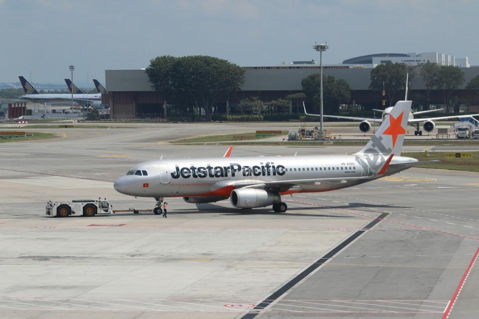 matsuさんのジェットスター・パシフィック Airbus A320 (VN-A565) 航空フォト
