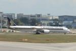 matsuさんが、シンガポール・チャンギ国際空港で撮影したシンガポール航空 787-10の航空フォト(飛行機 写真・画像)
