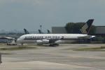 matsuさんが、シンガポール・チャンギ国際空港で撮影したシンガポール航空 A380-841の航空フォト(飛行機 写真・画像)