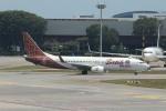 matsuさんが、シンガポール・チャンギ国際空港で撮影したマリンド・エア 737-8GPの航空フォト(飛行機 写真・画像)
