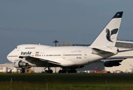 ミンミンさんが、成田国際空港で撮影したイラン航空 747SP-86の航空フォト(飛行機 写真・画像)