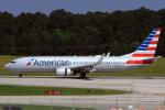 A-Chanさんが、ローリー・ダーラム国際空港で撮影したアメリカン航空 737-823の航空フォト(写真)