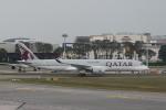 matsuさんが、シンガポール・チャンギ国際空港で撮影したカタール航空 A350-941XWBの航空フォト(写真)