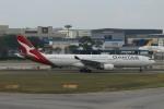matsuさんが、シンガポール・チャンギ国際空港で撮影したカンタス航空 A330-303の航空フォト(飛行機 写真・画像)