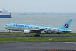 AkilaYさんが、羽田空港で撮影した大韓航空 777-2B5/ERの航空フォト(写真)
