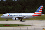 A-Chanさんが、ローリー・ダーラム国際空港で撮影したアメリカン航空 A319-132の航空フォト(写真)