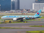 Mame @ TYOさんが、羽田空港で撮影した大韓航空 777-2B5/ERの航空フォト(写真)