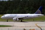 A-Chanさんが、ローリー・ダーラム国際空港で撮影したユナイテッド航空 A319-131の航空フォト(写真)