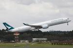 sky-spotterさんが、成田国際空港で撮影したキャセイパシフィック航空 A350-1041の航空フォト(写真)