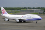 senyoさんが、成田国際空港で撮影したチャイナエアライン 747-409の航空フォト(写真)