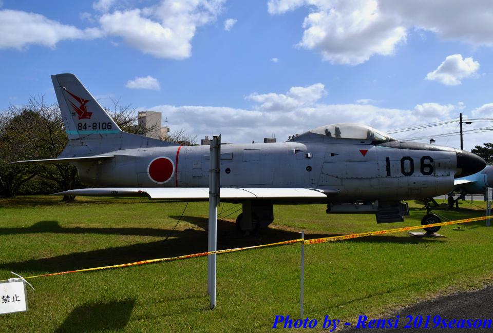 れんしさんの航空自衛隊 North American F-86 Sabre (84-8106) 航空フォト