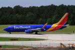 A-Chanさんが、ローリー・ダーラム国際空港で撮影したサウスウェスト航空 737-8H4の航空フォト(写真)