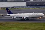 ちゅういちさんが、羽田空港で撮影したサウジアラビア王国政府 A340-213Xの航空フォト(写真)