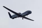 ファントム無礼さんが、横田基地で撮影したアメリカ空軍 RQ-4B-40 Global Hawkの航空フォト(写真)