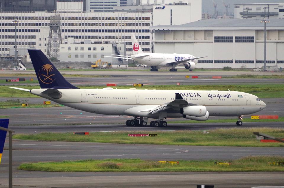 yabyanさんのサウジアラビア王国政府 Airbus A340-200 (HZ-HMS2) 航空フォト