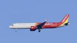 パンダさんが、成田国際空港で撮影したベトジェットエア A321-271Nの航空フォト(飛行機 写真・画像)