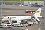 SGR RT 改さんが、羽田空港で撮影したウクライナ政府 A319-115CJの航空フォト(写真)