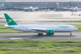 椰子さんが、羽田空港で撮影したトルクメニスタン航空 777-22K/LRの航空フォト(飛行機 写真・画像)