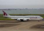 タミーさんが、羽田空港で撮影したカタールアミリフライト 747-8KB BBJの航空フォト(写真)