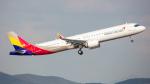 ケロリ/Keroriさんが、仁川国際空港で撮影したアシアナ航空 A321-251NXの航空フォト(飛行機 写真・画像)
