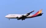 キットカットさんが、成田国際空港で撮影したアシアナ航空 747-48EM(BDSF)の航空フォト(写真)