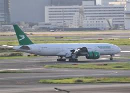M.Ochiaiさんが、羽田空港で撮影したトルクメニスタン航空 777-22K/LRの航空フォト(飛行機 写真・画像)