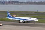 KAZFLYERさんが、羽田空港で撮影した全日空 A321-211の航空フォト(写真)