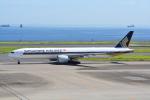 LEGACY-747さんが、羽田空港で撮影したシンガポール航空 777-312/ERの航空フォト(写真)