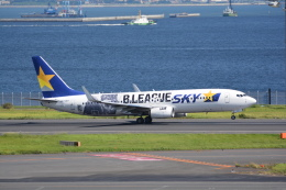 LEGACY-747さんが、羽田空港で撮影したスカイマーク 737-86Nの航空フォト(写真)