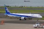 Hiro-hiroさんが、羽田空港で撮影した全日空 A321-272Nの航空フォト(写真)