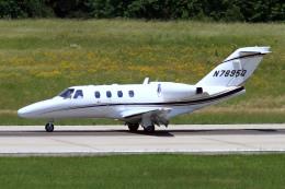 A-Chanさんが、ローリー・ダーラム国際空港で撮影したアメリカ個人所有 525 Citation CJ1の航空フォト(飛行機 写真・画像)