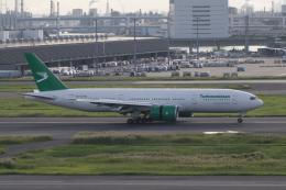 かずまっくすさんが、羽田空港で撮影したトルクメニスタン航空 777-22K/LRの航空フォト(飛行機 写真・画像)