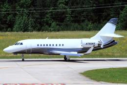 A-Chanさんが、ローリー・ダーラム国際空港で撮影したアメリカ個人所有 Falcon 2000EXの航空フォト(飛行機 写真・画像)