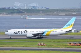LEGACY-747さんが、羽田空港で撮影したAIR DO 767-381/ERの航空フォト(写真)