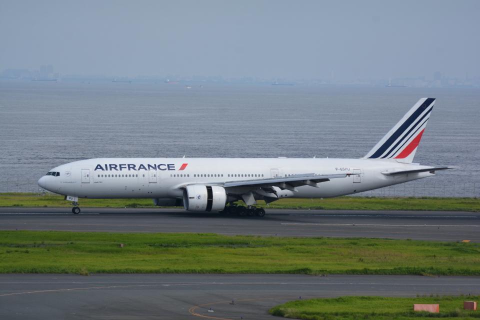 LEGACY-747さんのエールフランス航空 Boeing 777-200 (F-GSPU) 航空フォト